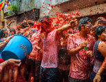 Blake Lively vive la tomatina valenciana en el rodaje de 'All I See Is You'