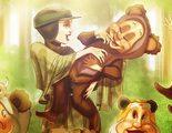 Las princesas Disney se trasladan al universo 'Star Wars' con estas ilustraciones