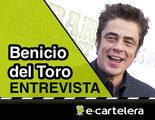 Benicio del Toro: 'Trabajo igual en una película independiente y en una de estudio'