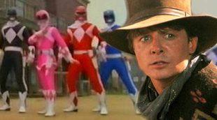 Los 'Mighty Morphin Power Rangers' emularon a 'Volver al futuro III' en un doble episodio