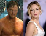 Jennifer Lawrence y Chris Pratt protagonizan las primeras imágenes desde el rodaje de 'Passengers'