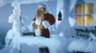 Cartel en castellano de 'La leyenda de Santa Claus'