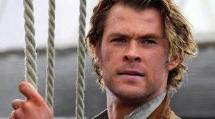 Chris Hemsworth sobrecoge en el tráiler final de 'En el corazón del mar'