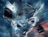Primer teaser póster de 'Sharknado 4', la exitosa saga sobre tornados de tiburones