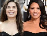 Los Globos de oro confunden a America Ferrera con Gina Rodriguez en su cuenta de Twitter