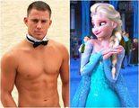 Channing Tatum se convierte en Elsa de 'Frozen' en 'Lip Sync Battle'