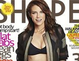 Lauren Cohan, de 'The Walking Dead', posa así de explosiva para la revista Shape