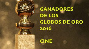 Ganadores de los Globos de Oro 2016: Cine