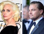 Leonardo DiCaprio y Lady Gaga protagonizan el momentazo de los Globos de Oro 2016