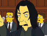 La vez que Benedict Cumberbatch fue Alan Rickman en 'Los Simpson'