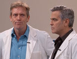 George Clooney y Hugh Laurie protagonizan un crossover de 'Urgencias' y 'House' en 'Jimmy Kimmel Live!'