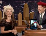 Penélope Cruz y Jimmy Fallon realizan un Dubsmash de 'Frozen' en 'The Tonight Show'
