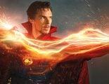 'Doctor Extraño': Imagen con Benedict Cumberbatch caracterizado en el rodaje