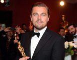 Leonardo DiCaprio casi se olvida de su Oscar en un restaurante