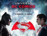 Los emblemas de 'Batman v Superman' colonizan Madrid en el Universo DC Comics Madrid
