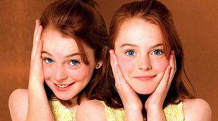 Lindsay Lohan recrea una escena de 'Tú a Londres y yo a California'