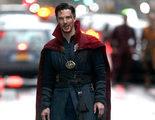 Benedict Cumberbatch se deja ver como el Doctor Extraño por Nueva York