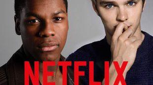 Nicholas Hoult, John Boyega y James McAvoy en 'Watership Down'