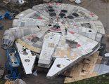 Nuevas imágenes y vídeo del Halcón Milenario y de varios sets del rodaje de 'Star Wars: Episodio VIII'