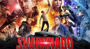 El cartel de 'Sharknado 4' homenaje 'Star Wars: Episodio VII'