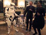 Los Obama celebran el día de Star Wars bailando con R2-D2