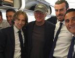 Richard Gere viaja en el avión del Real Madrid a la final de la Champions