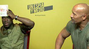 'Un espía y medio': Kevin Hart y Dwayne Johnson juegan con nosotros al '¿Quién soy?'