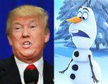 Donald Trump utiliza una imagen de 'Frozen' para decir que no es antisemita