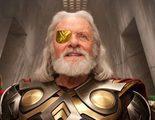 'Thor: Ragnarok': El nuevo aspecto de Anthony Hopkins como Odín en el set de rodaje