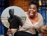 Leslie Jones descubre a Black Panther, el 'gato de enorme culo', al ver 'Capitán América: Civil War'