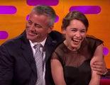Matt LeBlanc se quiere poner al día con 'Juego de Tronos' para ver a Emilia Clarke desnuda