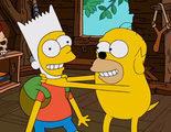 'Los Simpson' presenta el gag del sofá inspirado en 'Hora de aventuras'