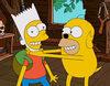 El gag del sofá a lo 'Hora de aventuras' de 'Los Simpson'