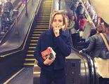 Emma Watson esconde libros feministas en el metro de Londres