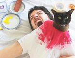 Una pareja de cinéfilos recrea escenas míticas del cine con sus gatos