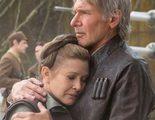 Carrie Fisher casi le cuenta a la segunda mujer de Harrison Ford su romance
