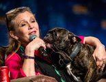 Gary, el perro de Carrie Fisher, se despide de su dueña en las redes sociales
