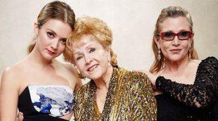 La hija de Carrie Fisher se despide de ella y de su abuela