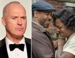 Michael Keaton confunde dos de las nominadas a los Globos de Oro y se monta su propia película: 'Hidden Fences'