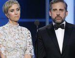 Globos de Oro 2017: Steve Carell y Kristen Wiig y su gran presentación del premio a la mejor película de animación