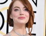 Así reaccionó Emma Stone al ver el beso de Andrew Garfield y Ryan Reynolds en los Globos de Oro 2017