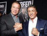 Sylvester Stallone le desea un feliz cumpleaños a Arnold Schwarzenegger, pero él ya había ganado el combate de felicitaciones