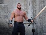 """Hafþór Björnsson, """"La Montaña"""" en 'Juego de Tronos', exhibe su fuerza luchando por un Récord Guiness"""