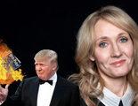 'Harry Potter': La respuesta de J.K. Rowling al seguidor de Trump que quemó los siete libros