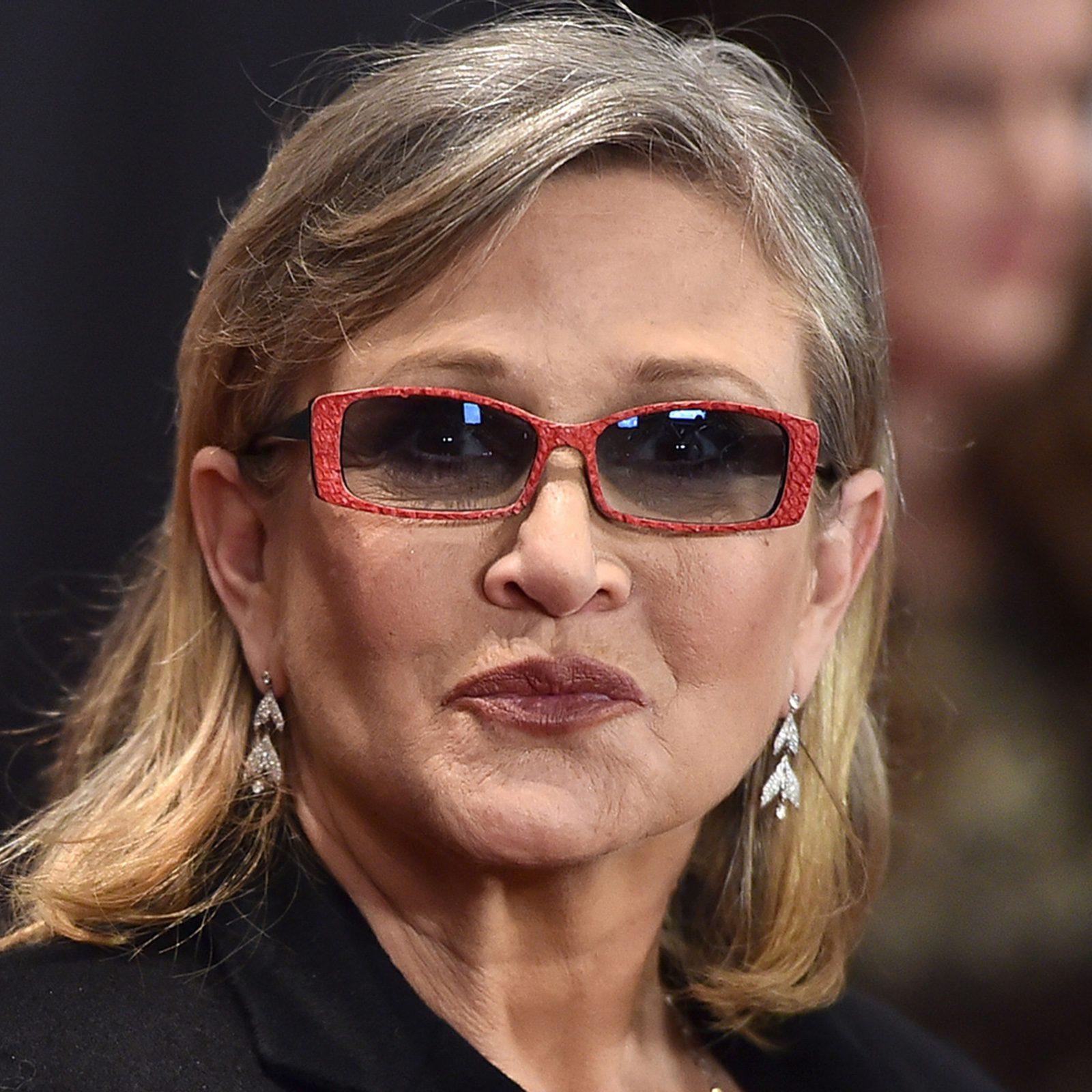 """Carrie Fisher """"predijo"""" la fecha de su muerte, según el ..."""
