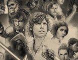 'Star Wars': El póster de la celebración del 40º aniversario reúne toda la saga en una imagen