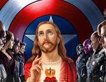Jesucristo se une a Los Vengadores y revoluciona la Fe en este cartel de la Pascua Juvenil 2017