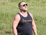 El nuevo aspecto de Russell Crowe, rapado y con barriga, y la burla de algunos medios