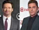Hugh Jackman salvó a Zac Efron de un incendio durante el rodaje de su próxima película juntos