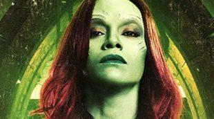'Guardianes de la Galaxia Vol. 2': Zoe Saldana muestra su transformación en Gamora en un vídeo